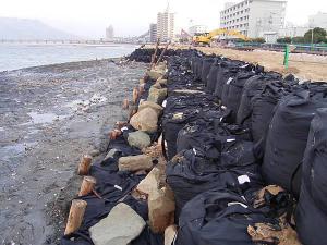 kè biển bao địa kỹ thuật - 2ton bag